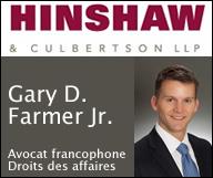 Gary D. Farmer Jr. – Hinshaw & Culbertson LLP