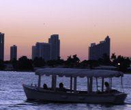 Une croisière à Miami Beach au coucher du soleil