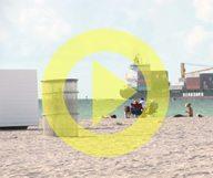 Le nettoyage annuel des plages de Miami Beach