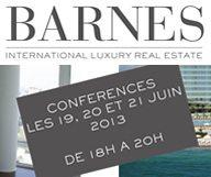 Conférences Barnes à Paris sur l'immobilier résidentiel à New York et à Miami