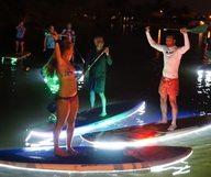 Le Paddle Board nocturne à Fort Lauderdale