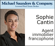 Sophie Cantin, Realtor
