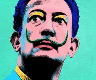 Warhol s'invite chez Dalí