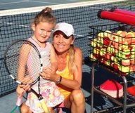 Valerie Albaret – « Une méthode de tennis fun et positive » – membre du French District