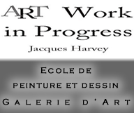 Art Work In Progress – Jacques Harvey
