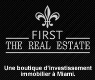 First the Real Estate est une boutique d'investissement immobilier a Miami