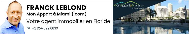 Mon appart à Miami (.com)  Franck Leblond Broker Associé