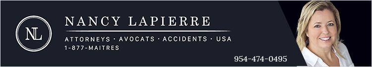 Nancy Lapierre – Avocat – Accident Floride