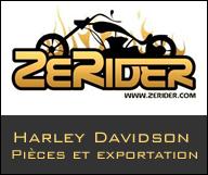 Zerider - Pièces détachées Harley Davidson