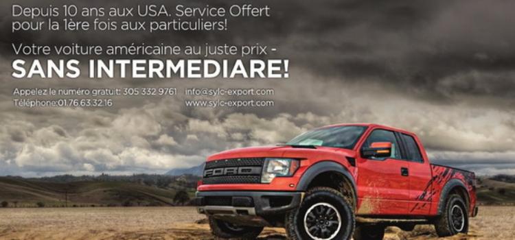 importateur de voitures américaines de collection en france: sylc export