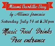 Fêter le 14 juillet à l'Alliance Française de Miami