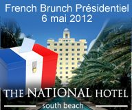 "French Brunch Présidentiel"" au National Hotel"