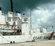 U.S. COAST GUARD CUTTER INGHAM, le musée flottant de Key West