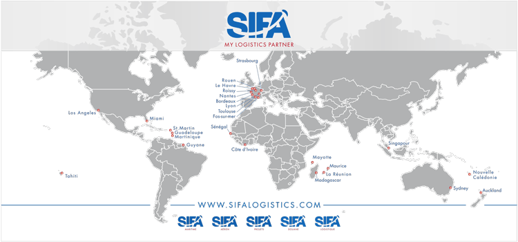 Transport et Logistique internationale - SIFA USA Miami et