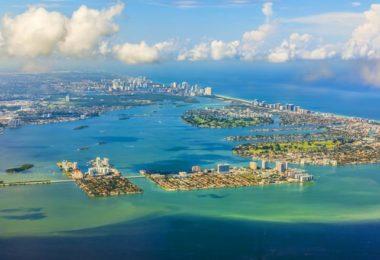 Survol de Miami en hélico