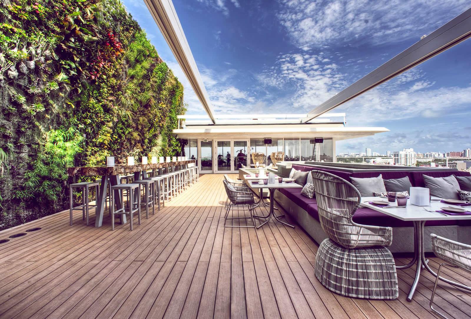 Le TOP 5 des rooftops de Miami