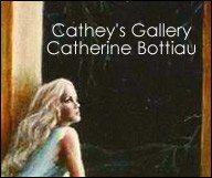 L'artiste peintre Catherine Bottiau présente sa galerie