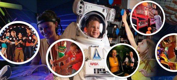 Wonderworks, le parc d'amusement familial en salle