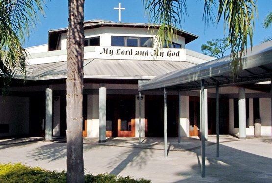 Une messe en français à Miami