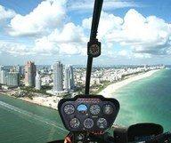 Un survol de Miami en hélicoptère