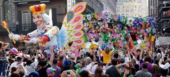 Mardi Gras à La Nouvelle-Orléans