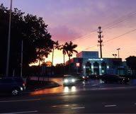 Le quartier ensoleillé de Miami