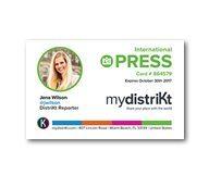Comment obtenir votre carte de Presse Internationale avec mydistriKt ?
