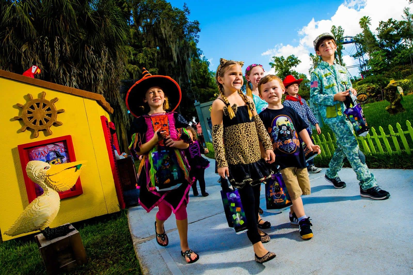 Orlando avec des enfants