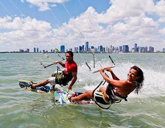 L'été se prolonge en kitesurf