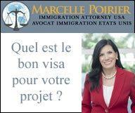 Visa pour les Etats-Unis : Marcelle Poirier vous conseille