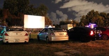 Blue Starlite Drive-in de Miami, cinéma en plein air