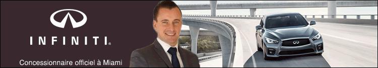 Concessionnaire Infiniti à Miami – Florian Grandi