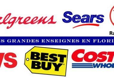 Les grandes enseignes en Floride - Supermarchés américains - Magasins