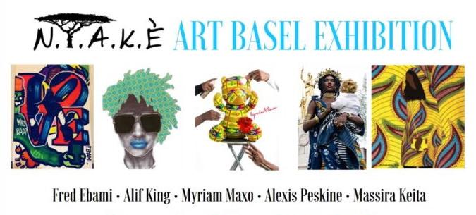 OfCourseMiami soutient N.Y.A.K.È Concept pour le Art Basel Miami Beach 2017