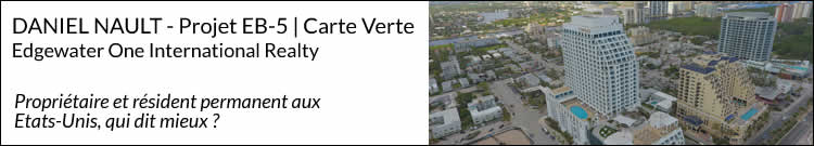 Edgewater One International Realty - Projet carte verte EB-5, Conrad Fort Lauderdale