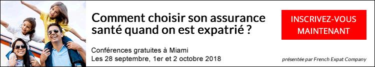 Conférences French Expat Company - Tournée