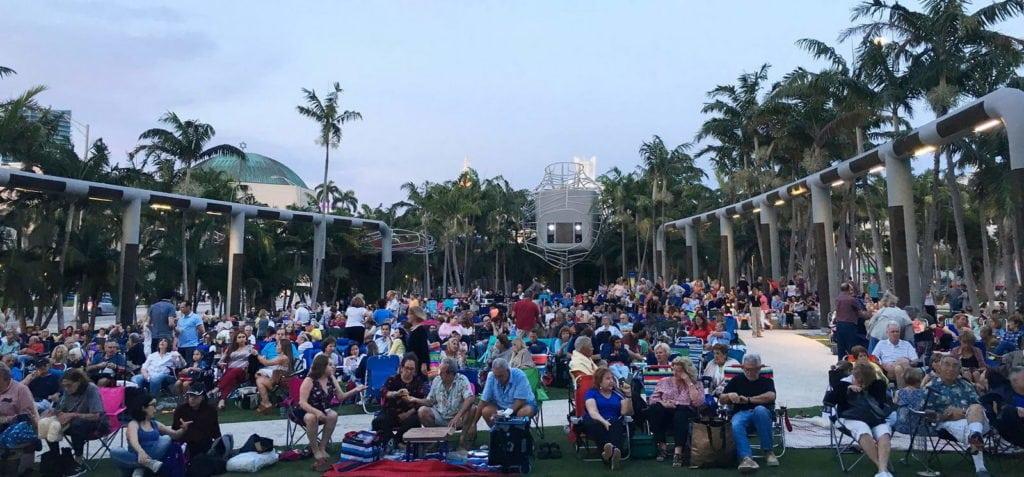 Les incontournables de Miami, Cinéma en plein air South Beach