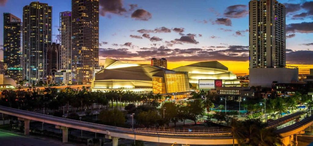 Les insolites à Miami, toutes les salles de concert