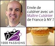 Envie de cuisiner avec un Maître Cuisinier de France à New York ?