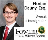 Fowler White Boggs, P.A., Florian Dauny, Esq.