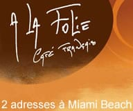 A la folie Cafe, de delicieuses crepes a Miami Beach
