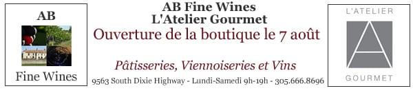 AB Fine Wine - Atelier Gourmet