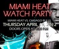 Miami Heat Watch Party chez Agadir