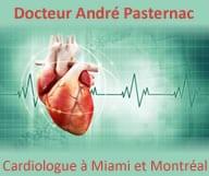 Docteur André Pasternac est cardiologue à Miami et à Montréal. Il est spécialiste des maladies coronariennes, cérébrales cardiovasculaires et fait des test d'effort ainsi que des electrocardiogrammes
