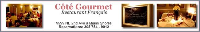 Cote Gourmet - Restaurant Francais