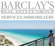 Barclay's immobilier investissement Miami