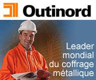 Outinord USA, specialiste du coffrage metallique et construction en beton