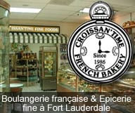 Croissan'Time est une boulangerie francaise et epicerie fine a Fort Lauderdale