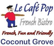 Cafe Pop Restaurant Coconut Grove