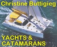 CHRISTINE BUTTIGIEG, YACHT SALES et YACHT CHARTERS